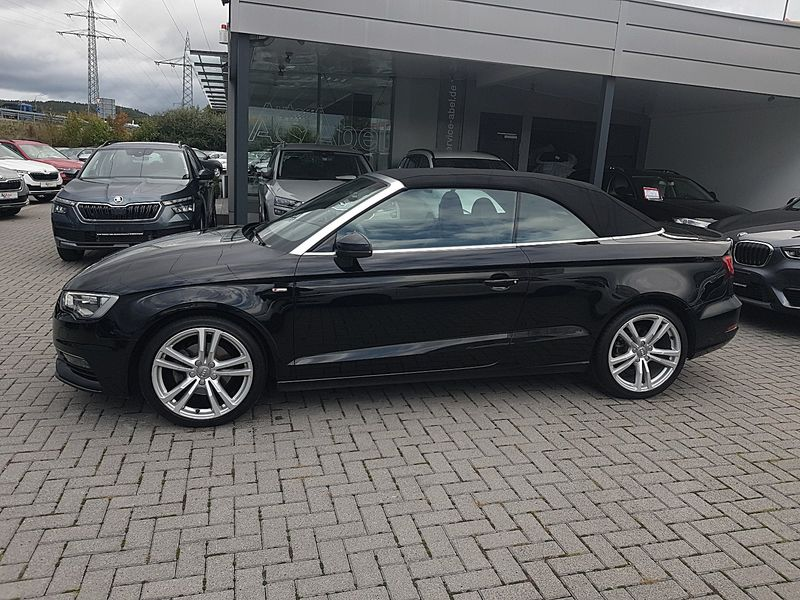A3 Cabriolet 1.4 TFSI S tronic S line Sportpaket