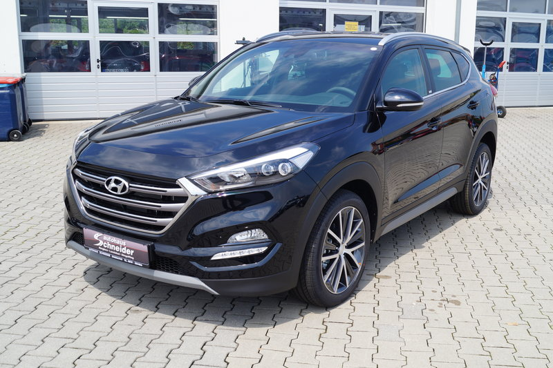 Tucson 2.0 CRDi Passion Plus 4WD / LED / Navi / AHK /