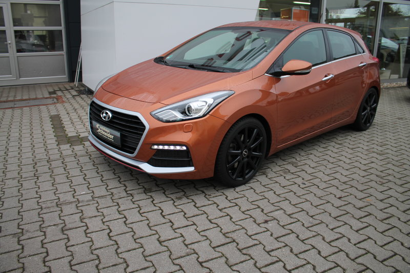 i30 Turbo 1,6 GDI NAVI/SMART-KEY/PDC/KAMERA/SHZ