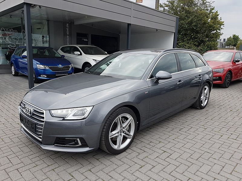 A4 AVANT 2.0TDI SPORT S LINE PLUS|VIRTUAL|CONNECT|