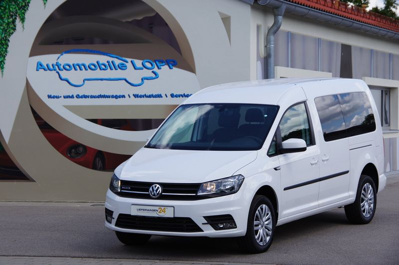 Caddy Maxi Plus 2.0 TDI 4Motion 7-SITZE KAMERA DAB