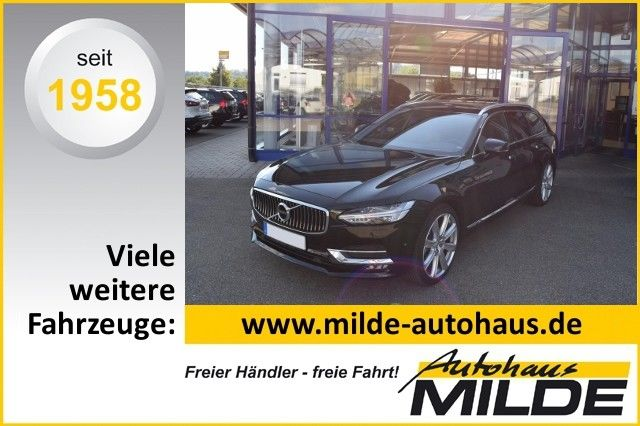 V90 T6 AWD Geartronic Inscription LEDER KASTANIE