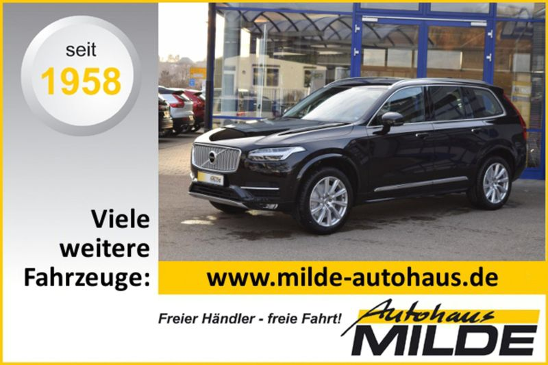 XC 90 INSCRIPTION D5 AWD XENIUM 7 SITZE SITZBEL