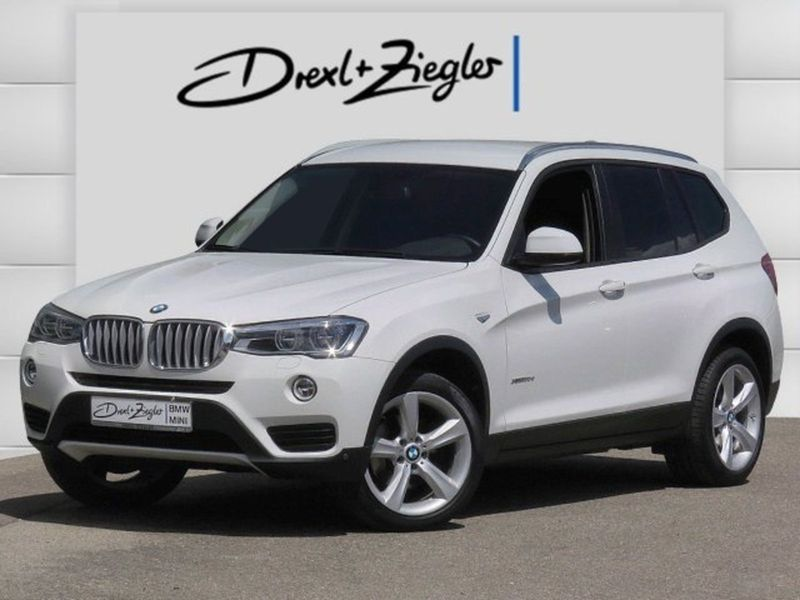 X3 xDrive30d Advantage LED NAVI HUD AHK Kamera