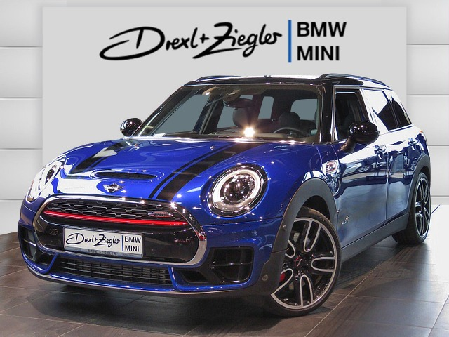 JCW All4 Clubman Chili Navi H&K LED AHK SAG Glasd.