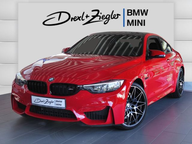 M4 Coupe Competition DKG Ferrari red H&K DAB