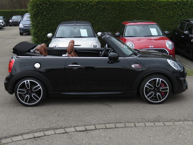 JCW Cabrio SAG Chili Wired Navi Head-Up H&K LED