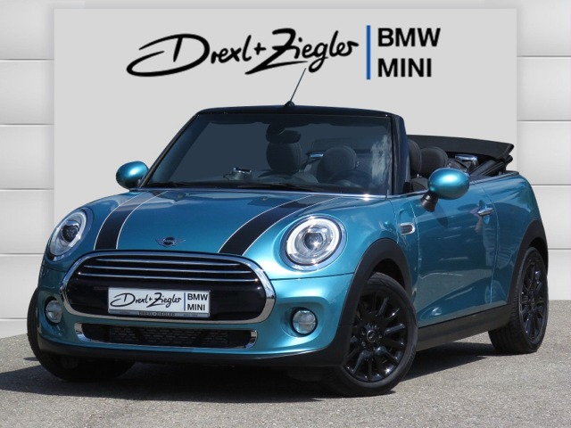 Cooper D Cabrio Pepper LED Boost SHZ MFL Alu