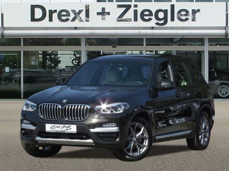 X3 xDrive20d xLine AHK Head-Up Pano.Dach Standhe