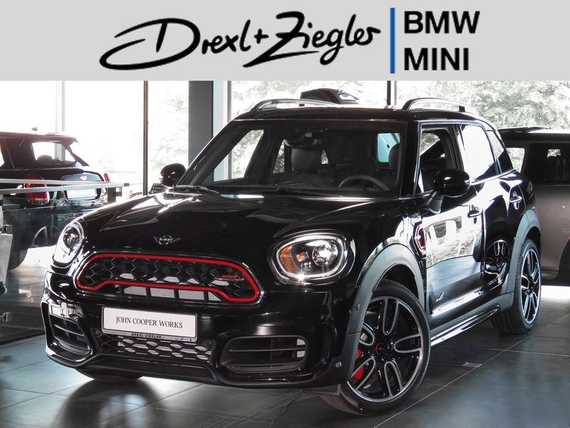 John Cooper Works Countryman ALL4 Chili Head-Up